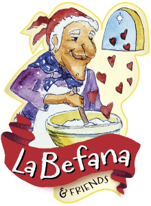 La Befana and Friends logo